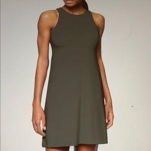 Athleta Santorini Dress Dark Grey